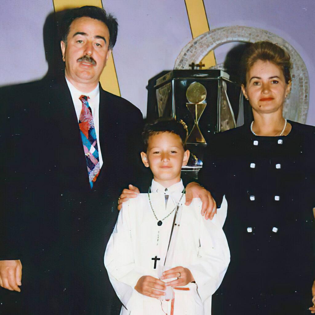 Marko Milanovic Litre Roditelji